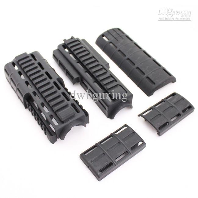 Drss Tapco Intrafuse AR-15 Handguard For Hunting Black BK