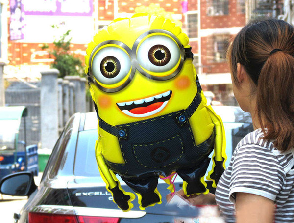 10 pcs Despicable me 2 Minion Hydrogen Party Birthday Balloon