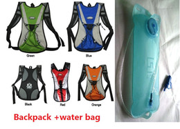Wholesale Mtb Backpacks Water - NEW A+ Cycling Bicycle Bike MTB Road Cycle Sport Water Bag Hiking Hydration Backpack+water bags 1set