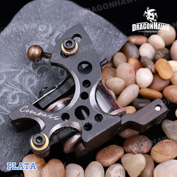 A+ Quality 8 Wraps Coils Tattoo Machines Tattoo Gun Steel Frame Copper Coils Compass Tattoo Machine Tattoo Supplies Tattoo Liner Machine