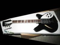 Wholesale Black 12 String Electric Guitar - Black 370  12 Strings Midnite Electric Guitar 360 12 Electric Guitar