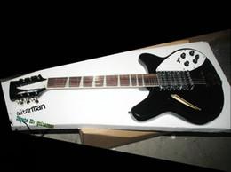 Wholesale 12 String Semi Hollow Guitars - Black 370  12 Strings Midnite Electric Guitar 360 12 Electric Guitar