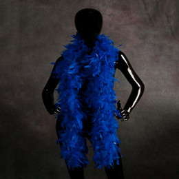 Wholesale Cheap Purple Decorations - Cheap Chandelle Feather Boas Carnival Halloween Accessory Turkey Marabou Feather Boa Cheap Feather Boas for Sale Many Colors Available