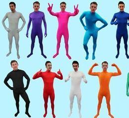 Bodysocks - Original sin cabeza Zentai Spandex Fancy Dress Traje de licra unisex desde fabricantes