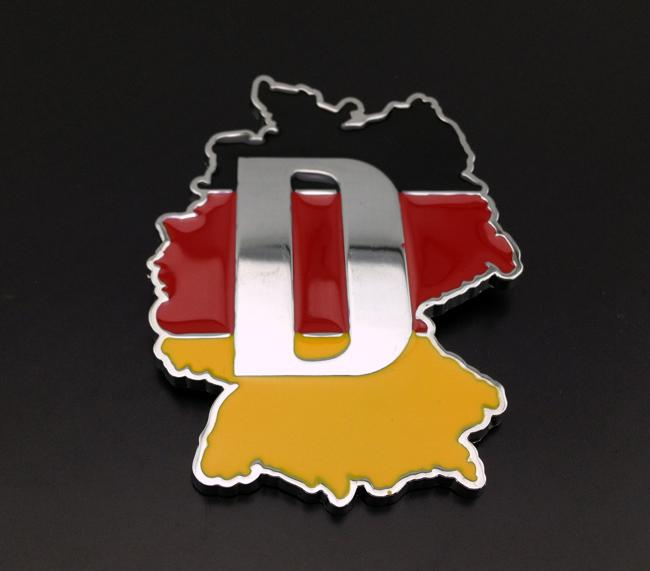 2020 Excellent NEW German Country Flag Motorsports Metal