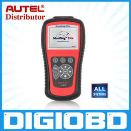 Wholesale Scan Tool Bmw - Autel MaxiDiag Elite MD802 All System Advance Graphing OBDII Scan Code Clearing Tool Full System