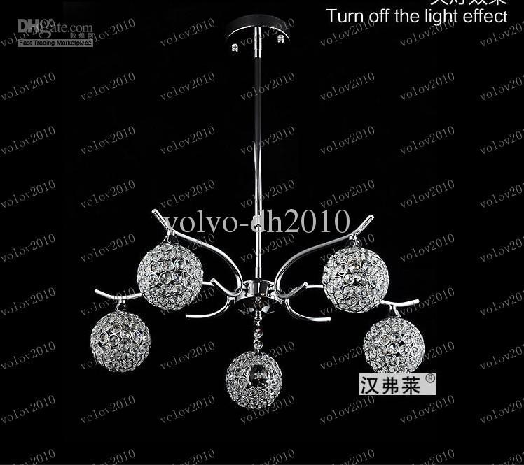 LLFA1927 Minimalistische moderne K9 Kristall Kronleuchter Esszimmer Schlafzimmer Esszimmer Kronleuchter Kunst Beleuchtung FRHC / 43
