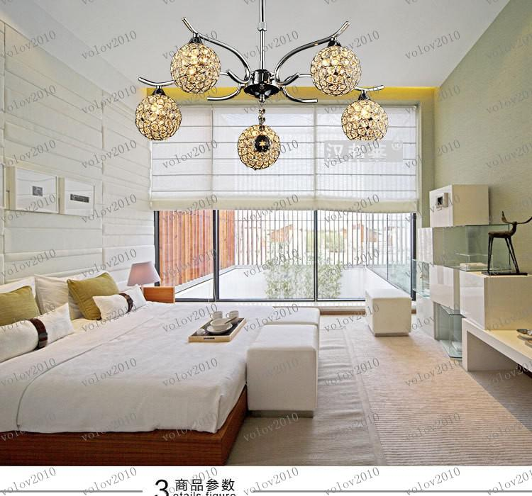 LLFA1927 Minimalista moderno K9 araña de cristal comedor Dormitorio Dormitorio araña de comedor Art Lighting FRHC / 43
