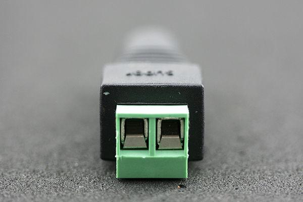 Prise de connecteur d'adaptateur de prise de courant femelle d'alimentation de CC pour CCTV sans boîte de détail