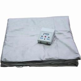 Wholesale Fir Sauna Detox - New Digital Slimming Blanket FIR Far Infrared Machine 4019A SAUNA Blanket Slimming Body Shape SPA Weight Loss Therapy Detox Portable