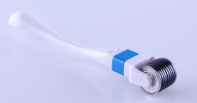 600 Micro needle Skin Roller Anti-Aging Derma roller Wrinkles Stretch Marks, 360 degree rolling dermaroller. .
