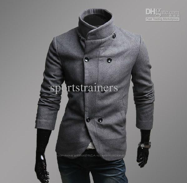 2018 2013 Cool Coats For Men Winter Wool Coats Business Coats ...