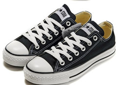 Wholesale Tall Canvas Shoes - 2016 Wholesale - Blue Tall Chuck canvas shoes sneaker Men's Women's canvas shoes Free shipping 889
