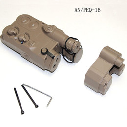 Wholesale Dummy Battery - Airsoft Battery Case Box Dummy AN   PEQ-16 Two Colors Free Shipping