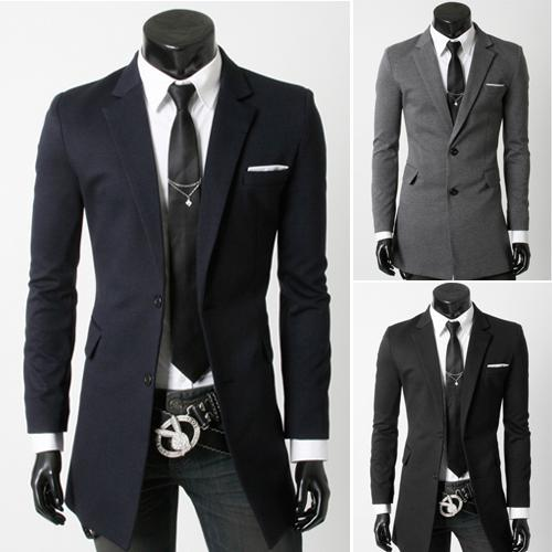 Cheap Men Blazer Suit Business Suit Jackets Ious Two Grain Of ...