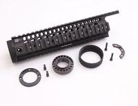 Wholesale m4 m16 handguard - Drss LaRue Tactical Style Gooseneck 11 inch Handguard Rail System For AEG M4 M16 Black(BK)