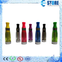 Wholesale Ego Removable - CE4 CE5 CE6 Cartomizer Clearomizer ego 7 colors removable no wick Heavy vapor no e-liquid leaking