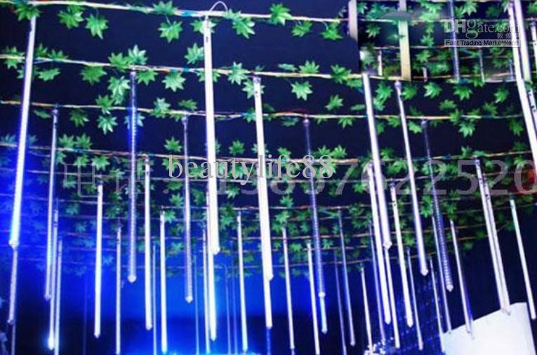 cheap waterproof outdoor shooting star led lights series led meteor shower lights 60 cm meteor shower lights string lights outdoor string lights from - Meteor Christmas Lights