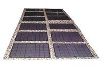 bateria solar monocristalina venda por atacado-120 Watt Monocrystalline Folding Kit Painel Solar para 12 V Car / Barco Bateria Carregador Solar para Laptop / Computador