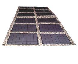 Wholesale Solar Panels For Car Batteries - 120Watt Monocrystalline Folding Solar Panel Kit for 12V Car Boat Battery Solar Powered Charger for Laptop Computer