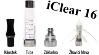 iclear16 spulen großhandel-2014 heißer Verkauf Innokin iClear 16 Clearomizer mit Doppelspule, elektronische Zigarette ecig Atomizer Spulenkopf, austauschbare Kopfspulen iclear16