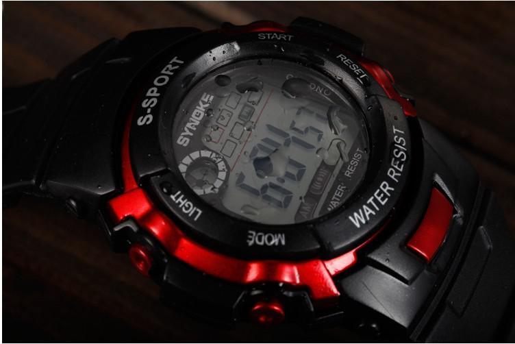 الرجال الصمام الساعات الرقمية ساعات المعصم الرياضة للماء مزيج الألوان 200ps دي إتش إل إسقاط شحن مجاني