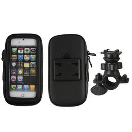Wholesale Mini S4 Waterproof - Waterproof Bicycle Handlebar Mount Holder Bag for iphone 4 4gs Iphone 5 5s Galaxy s3 mini i8190 s4 mini i9190 s3 i9300 s4 i9500 s5 i9600 1pc