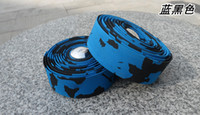 Par de Soft Road Bike Handle Bar Tape Wrap Bicicleta Ciclismo Tape Bar Plugs