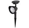 High Quality 5 Pcs Lot 3 LED Outdoor Solar Lamp Powered Spotlight Landscape Spot Light LED Garden Lamp