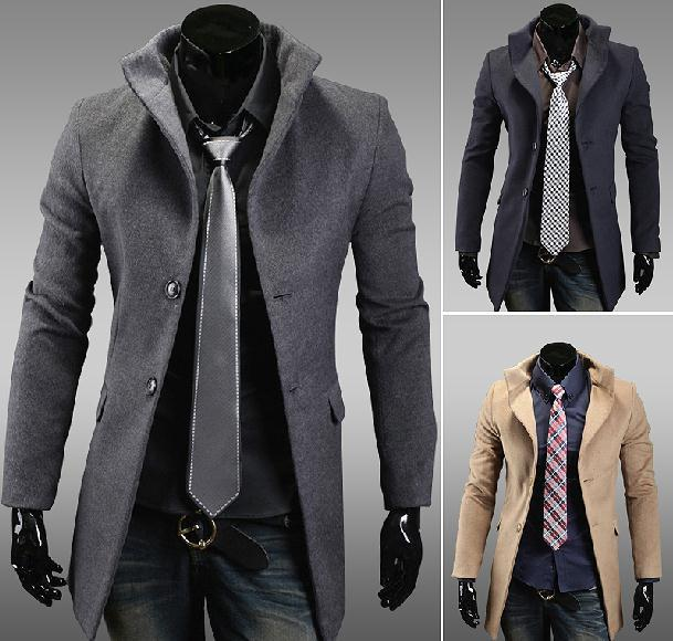 Winter Men Blazer Business Coats 2013 Korean Style Slim Fit Suit ...