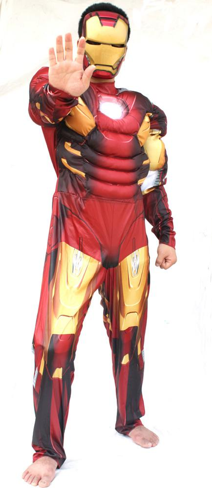 Carnival Costumes Adult Ironman Costume Movie Character