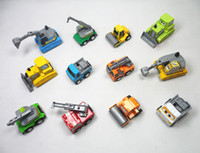 Wholesale Road Roller Toys - Friction Car Mini Pull Back Truck Cars New Gifts Kids Toys Trailer Road Roller Bulldozers