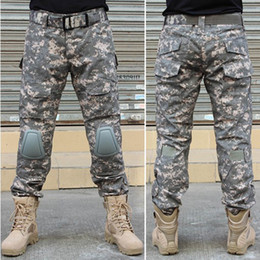 $enCountryForm.capitalKeyWord Canada - BDU Combat Uniform Tactical Assault Pants With Knee Pads Army Trouser For Airsoft Soldier Survival War Game Free Shipping