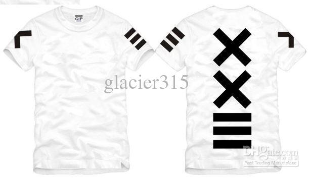 Shanghai-Geschichte Neue Verkaufsart und weise PYREX VISION 23 T-Shirt XXIII druckte T-Shirts HBA T-Shirt neues T-Shirt Art und Weiset-shirt 100% Baumwolle 6 Farbe