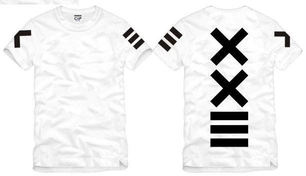 Shanghai nueva historia de la venta de moda PYREX VISIÓN 23 camiseta XXIII impreso camisetas HBA camiseta camiseta 100% algodón de es de moda nueva camiseta