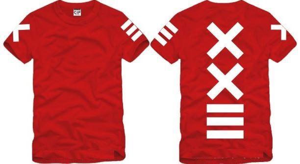 Shanghai Hikayesi Yeni satış moda PYREX VISION 23 tshirt XXIII baskılı T-Shirt HBA tshirt yeni tshirt moda t gömlek% 100% pamuk 6 renk