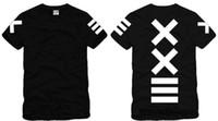 pantalones cortos de visión al por mayor-Envío gratis Tamaño chino S - XXXL camiseta al por menor Pyrex tee pyrex vision XX = - kanye impreso camiseta de manga corta 100% algodón 6