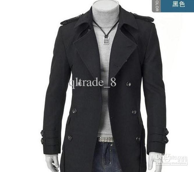 Specials Men Winter Coat Business Suit Jackets Single Breasted ...