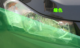 "Wholesale Green Headlight Film - 12""X48"" Green Headlight Fog Light Taillight Tint Viny Film Sheet Sticker #23725"