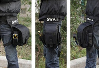 Wholesale Drop Leg Bag Waist Pouch - Wholesale - SWAT MULTI-MISSION Outdoor Leg Drop Waist Packs Belt Bags Pouch For CS Airsoft Camping Cycling Mountaineering Free Shipping