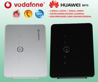 desbloqueado huawei inalámbrico al por mayor-1pcs / lot Huawei B970 3G WiFi Router inalámbrico USB módem desbloqueo + envío