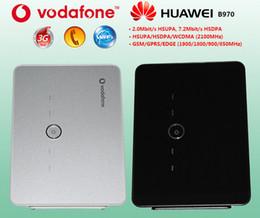 Wholesale Huawei Wifi Modem Unlocked - 1pcs lot Huawei B970 3G WiFi Wireless Router USB modem unlock + Free shipping
