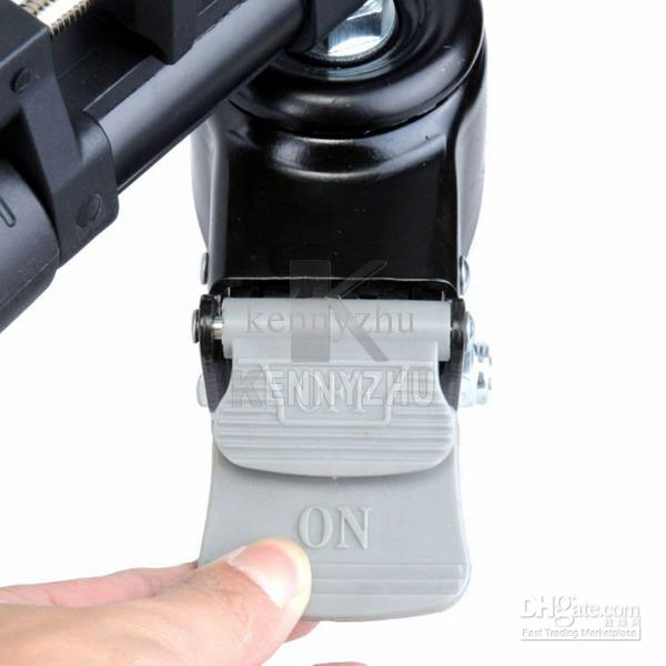 YUNTENG 901 Berufs Folding Aluminiumlegierung Large Size Stativwagen Standfuß + Tragetasche für Video-Camcorder