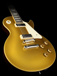 Wholesale Guitar Custom Goldtop - Custom 57 Goldtop with Mini Humbuckers Electric Guitar HOT SALE Electric Guitar Chinese guitar