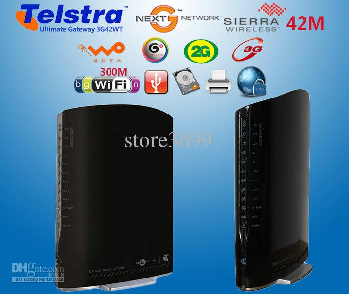 How to connect to telstra gateway router