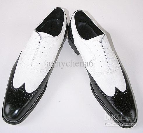 Men Dress Shoes Oxfords Shoes Custom Handmade Shoes Genuine Calf