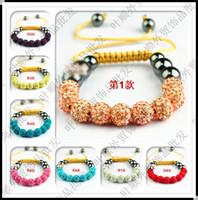 Wholesale Shambala Sale - Hot Sale! Shamballa Bracelet 9 &11 Clay Disco Balls Shambala Bracelets Jewelry Gift