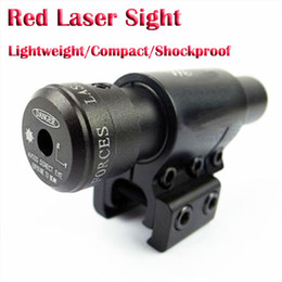 Wholesale Tactical Red Dot Laser Sight Rifle Scope With mm mm Scope Mount