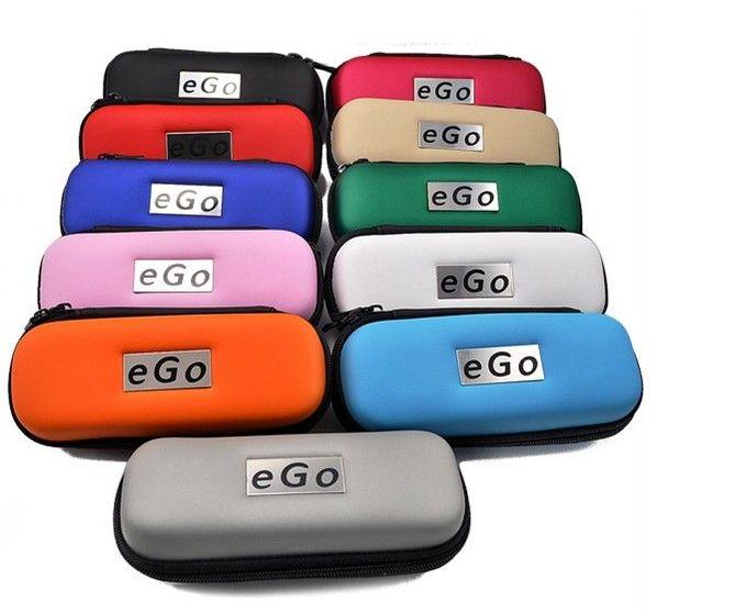 Cigarette électronique EGO Eig cigarette électronique Zipper box package avec fermeture à glissière portant forJoye eGo-T ego - réservoir E-cigarette DHL / EMS