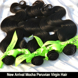 """Pure Peruvian Body Wave Hair Canada - New Arrival Mocha Hair Peruvian Virgin Hair Body Wave ,High Quality Hair Extensions 12""""-26"""" Tangle Free"""